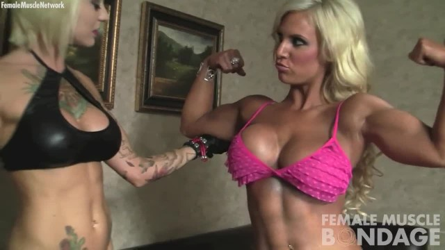 Sexy Female Bodybuilders with Big Tits and Tattoos