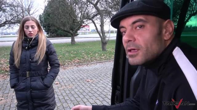 Blonde Wannabe Pornstar Fucks first Person she Meets