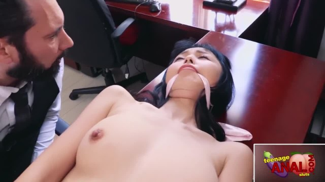 ASIAN TEEN MARICA HASE, RELEASED FROM THE CLOSET FOR ROUGH ANAL PUNISHMENT