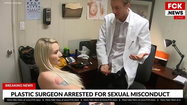 FCK News - Plastic Surgeon Caught Fucking Tattooed Patient