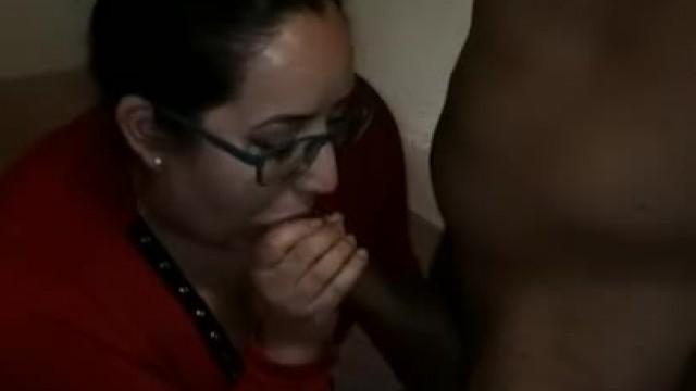 Brunette MILF Taking BBC for the First Time