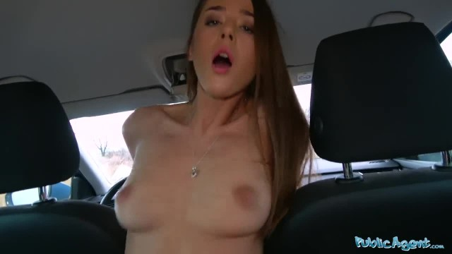 Public Agent Sexy Sybil Kailena gets her Hot Mouth Filled with Cum