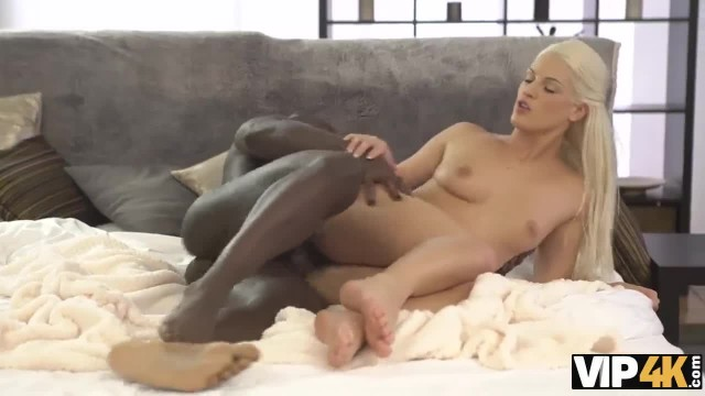 VIP4K. Hollie Mack has Black on White Sex with Moms Colleague
