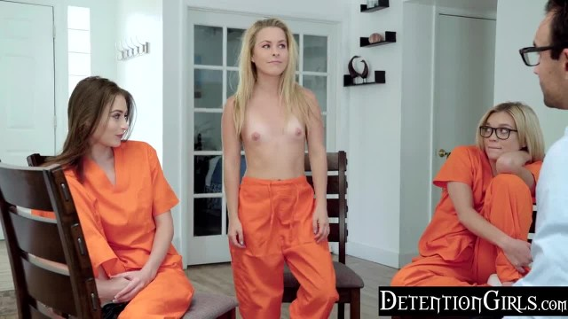 DetentionGirls - Sneaking her Vibrator into Group Therapy
