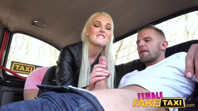 Female Fake Taxi Lovita Fate Hits and Fucks Passenger in Cab