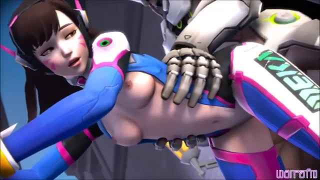 OVERWATCH - D.VA Collection with Hot Fuck Scenes