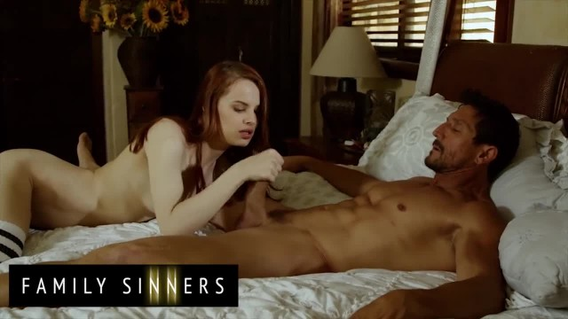 Family Sinners - Cute Stepdaughter Jillian Janson Loves to get Punished