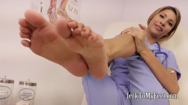 Bratty Hottie Can Help You With Your Foot Fetish JOI