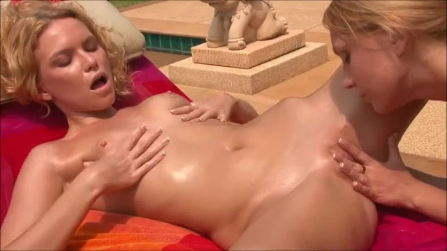 Naughty Lesbian Teens Finger and Licking Pussy