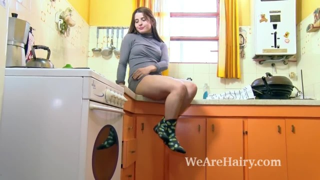 Skyler has Hot and Orgasmic Fun in her Kitchen