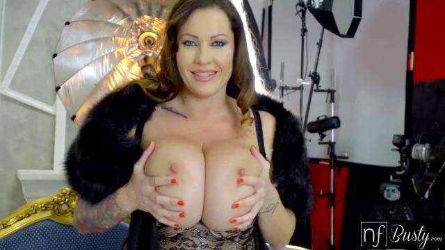 NF Busty - Frisky Photoshoot with Massive Tit MILF S8:E12