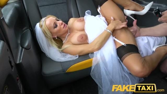 Fake Taxi Sexy Tara Spades Creampied on her Wedding Day