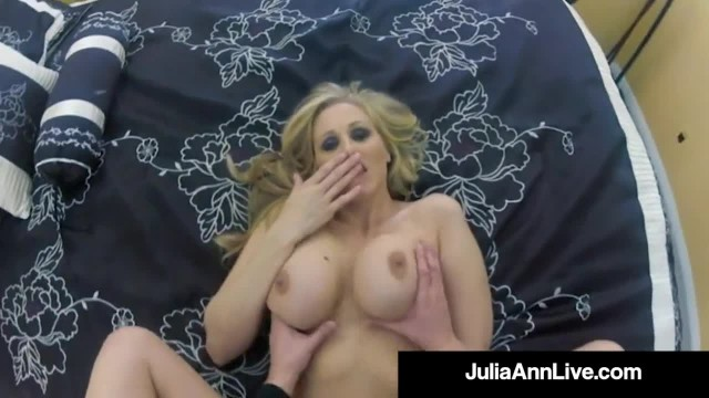 Spied on Cougar Julia Ann gets Dick Drilled on Spycam!