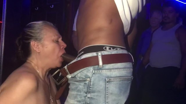 Horny Granny Swallows Two Loads