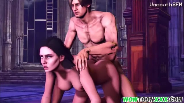 Big Dick the Witcher Fucking his Slave Babes