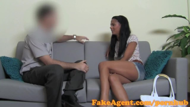 FakeAgent Innocent Hot Amateur Fucked Hard and Jizzed on