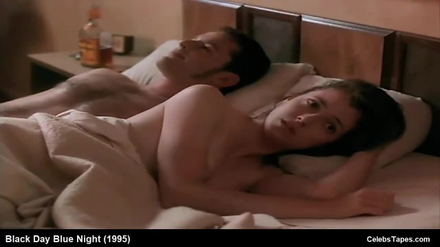 Brunette Celebrity Mia Sara Nude and Romantic Sex Scenes