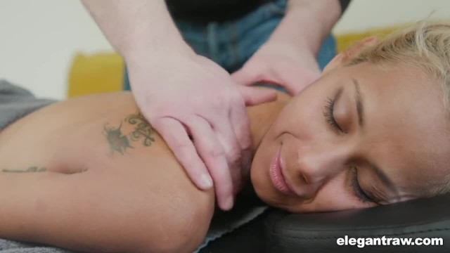 Tensed MILF in need of Anal Massage Therapy