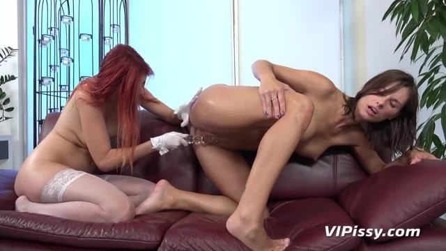 Lesbian Pissing with Incredible Czech Beauties