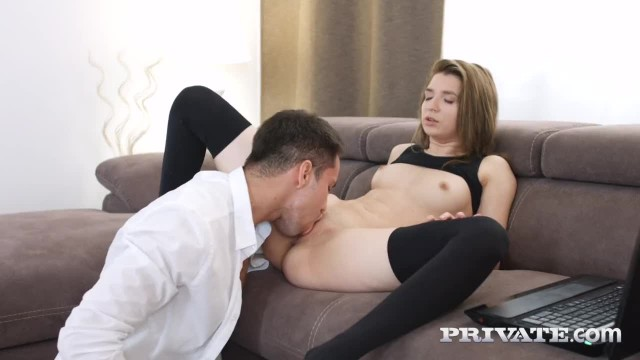 PrivateCom - Stocking Clad Hottie, Cornelia, is Ass Fucked!