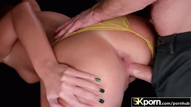 5KPorn - Scarlett Mae's Shaved Pussy Filled with Cum in 60FPS