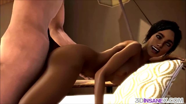 Stranded 3D Teens Fucked Raw and Hard