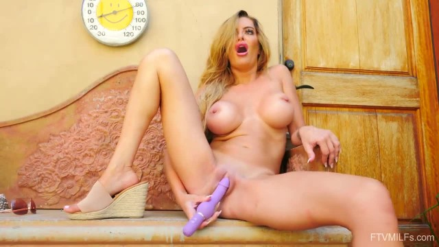 Big Tits MILF Linzee Masturbating Skinny Dipping and Playing Compilation