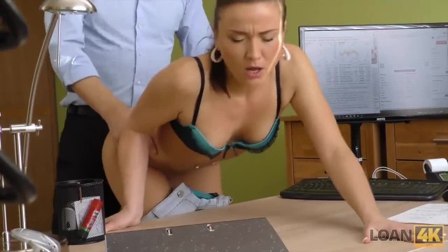 LOAN4K. Loan Agency can Give Girl Money if she Satisfies Manager