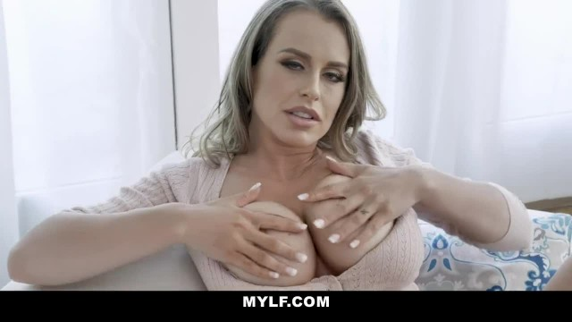 MYLF - Big Titty MILF Fingers herself in Bed