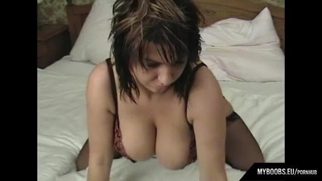 Kora Kryk Masturbate in Sexy Lingerie with Blue Vibrator