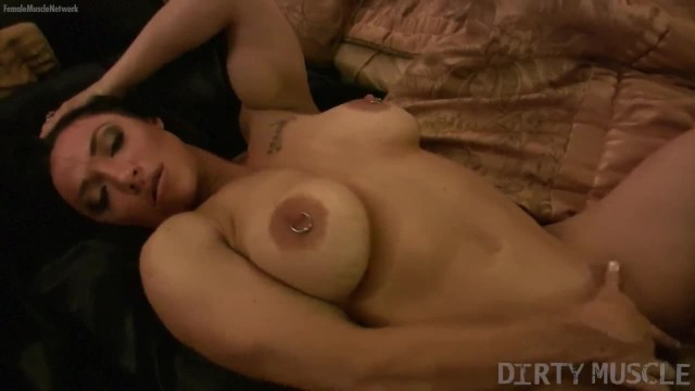 Big Tit Female Muscle Porn Star Pierced Nipples