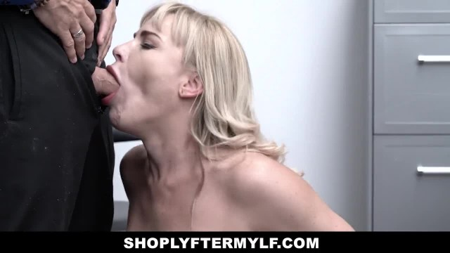 ShopLyfter MYLF - Busty Blonde MILF Shoplifter gets Caught and Fucked