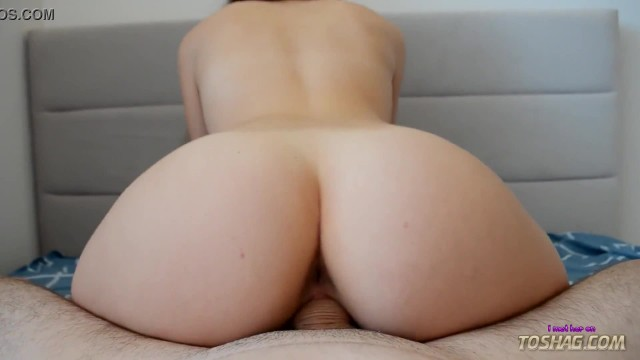 Hot ass babe rides my cock while her husband works