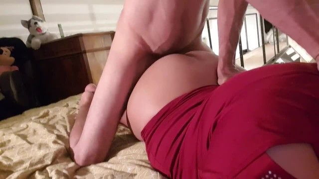 Big Ass Babe Enjoys Being Fucked from Behind