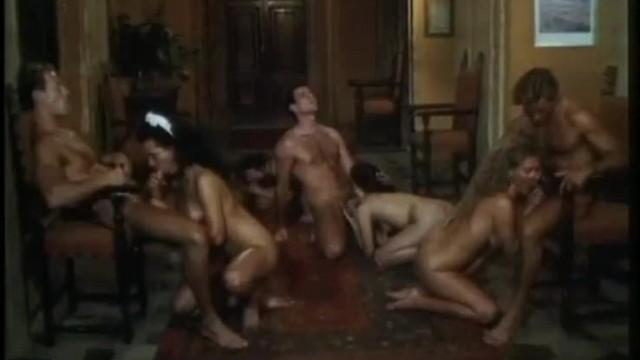 Vintage Orgy Scene