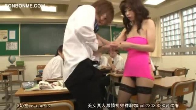 Horny Teacher Seduces Student