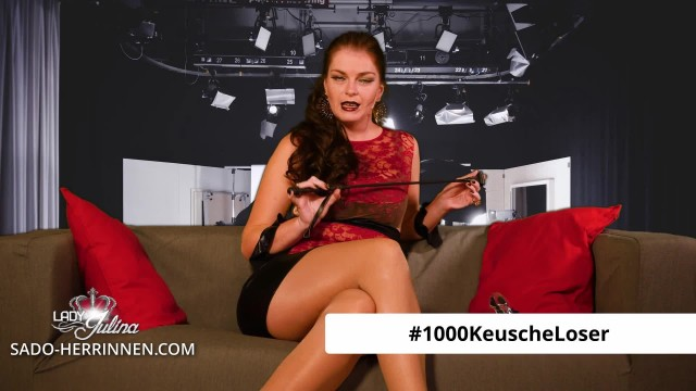 Photo Contest: 1000 chaste losers for Domina lady Julina  - German