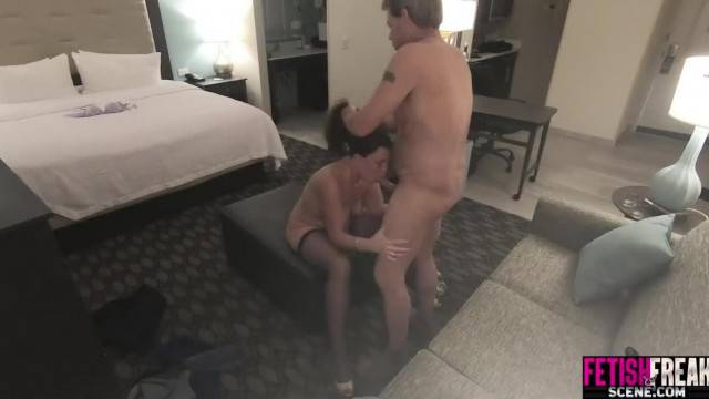 Real Living Room Sex with Husband and Wife