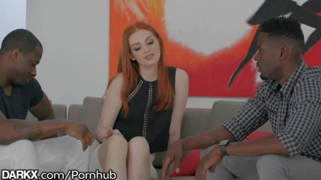 DarkX Greedy Redhead wants 2 BBCs at the same Time