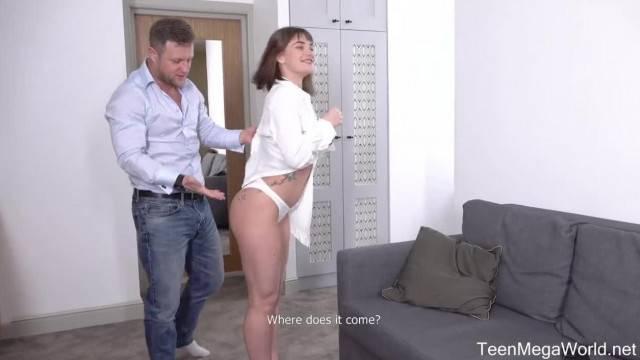 FuckStudies Beau Rose Grand Cum Finale on Couch