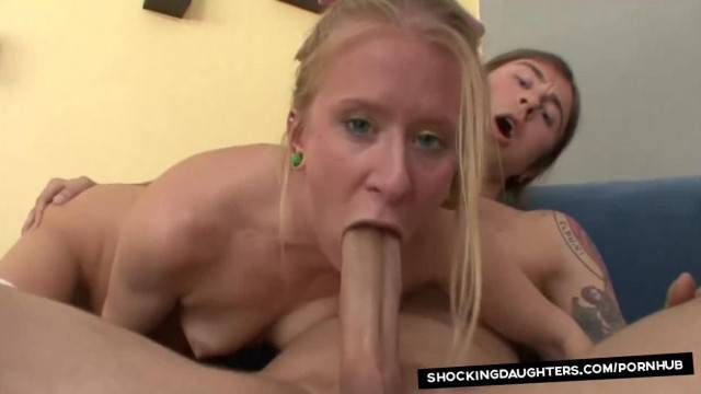 Neighbors Daughter gets Pounded with Big Cock