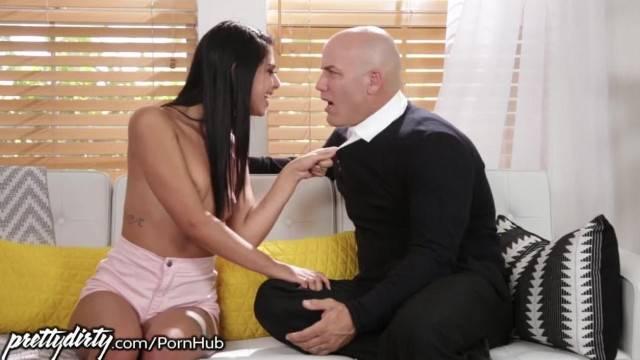 PrettyDirty Gina Valentina Begs Teacher to Fuck her