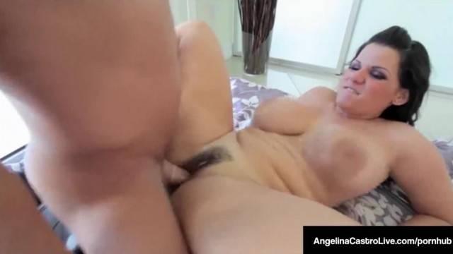 Cuba 1 Export Angelina Castro Loves Cum on her Huge Tits