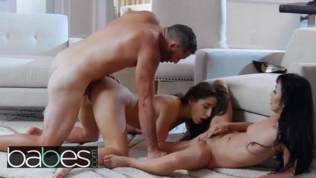BABES Abella Danger and Marica Hase get Fucked Hard and Share Load