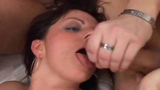 Horny and Hairy Amateurs Creampied and Cummed on Comp