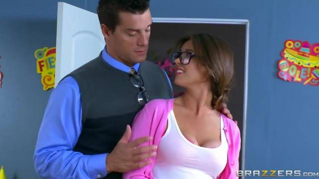 Alice Lighthouse Sucks some Teacher Cock Brazzers