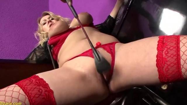 First BBC BDSM Interracial for Chubby MILF