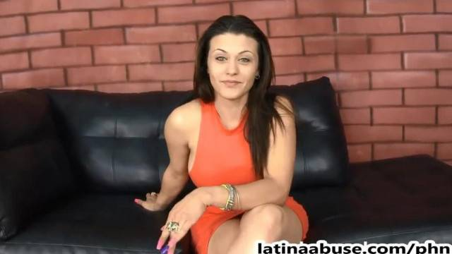 Rough Facefuck for Big Boobed Latina Carmen Ross