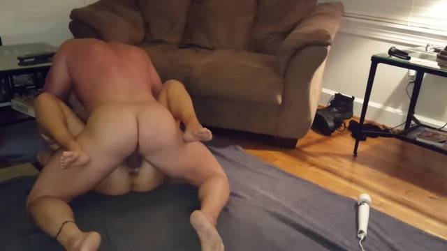 Muscle Daddy Pounds his Wife Hard