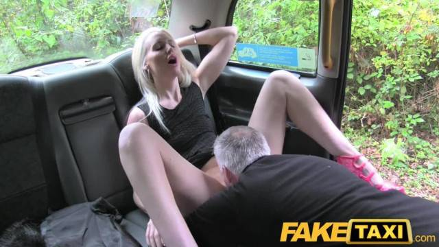 FakeTaxi Anal Butt Plug followed by Big Cock